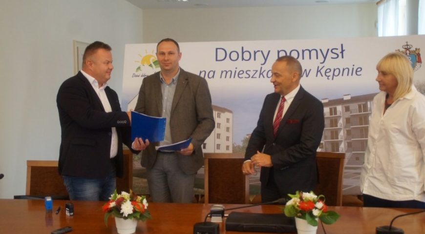 Podpisano umowę na realizację budowy dwóch bloków mieszkalnych