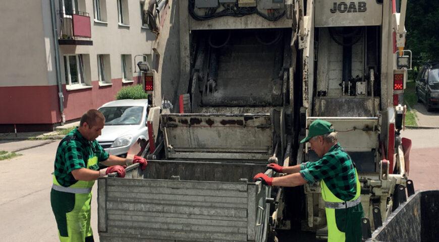 Informacje o odpadach